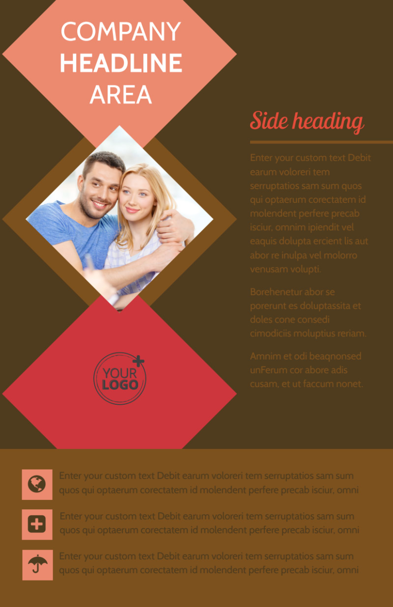 Family & Marriage Counseling Flyer Template Preview 2