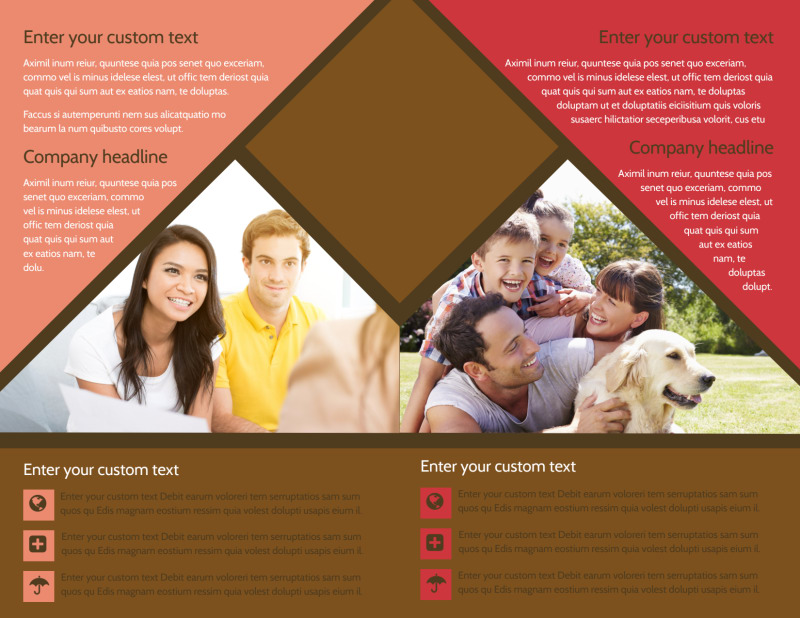Family & Marriage Counseling Brochure Template Preview 3