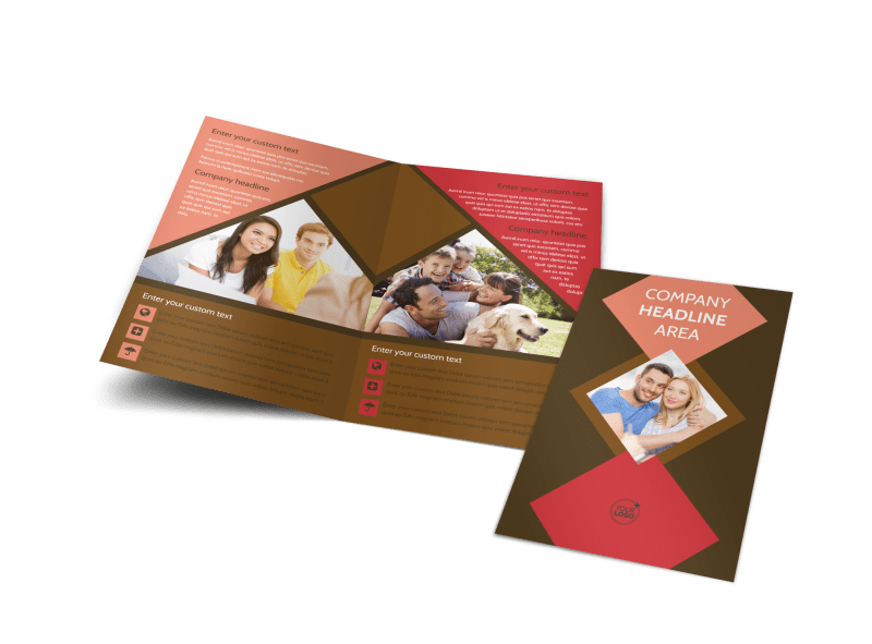 Family & Marriage Counseling Brochure Template Preview 1