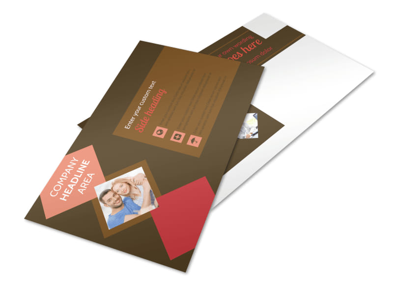 Family & Marriage Counseling Postcard Template Preview 4