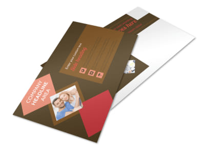 Family & Marriage Counseling Postcard Template preview