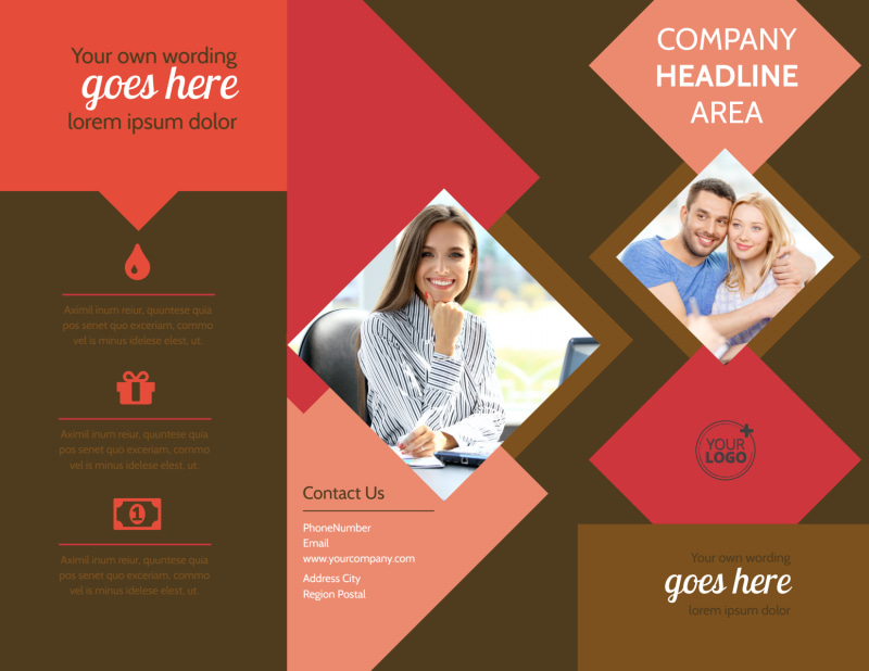 Family & Marriage Counseling Brochure Template Preview 2