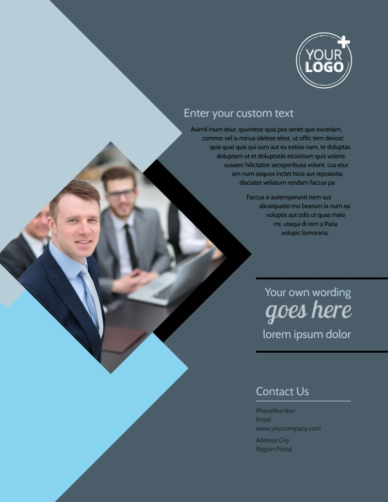 Public Relations Firm Flyer Template Preview 3
