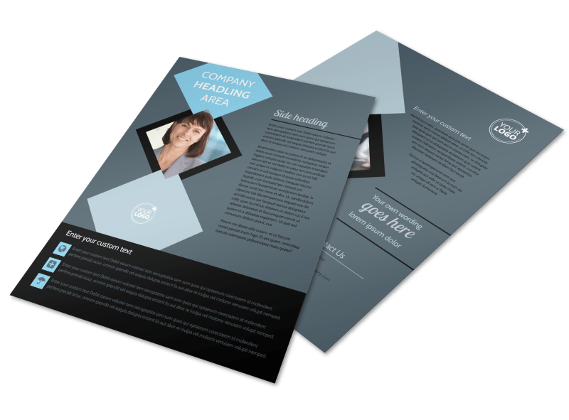 Public Relations Firm Flyer Template Preview 1