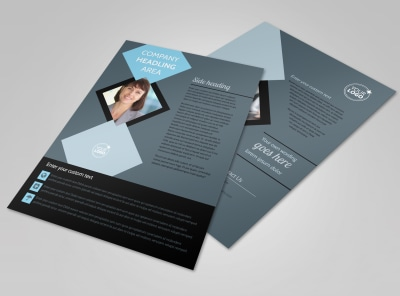 Public Relations Firm Flyer Template