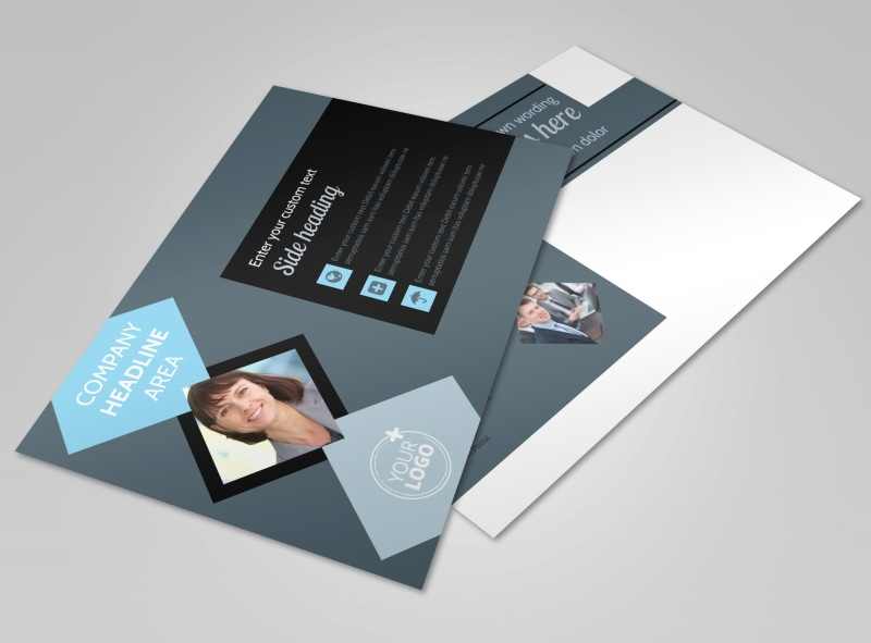 Public Relations Firm Postcard Template Preview 4