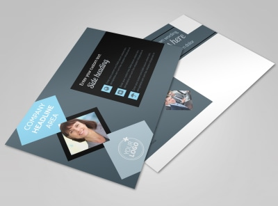 Public Relations Firm Postcard Template
