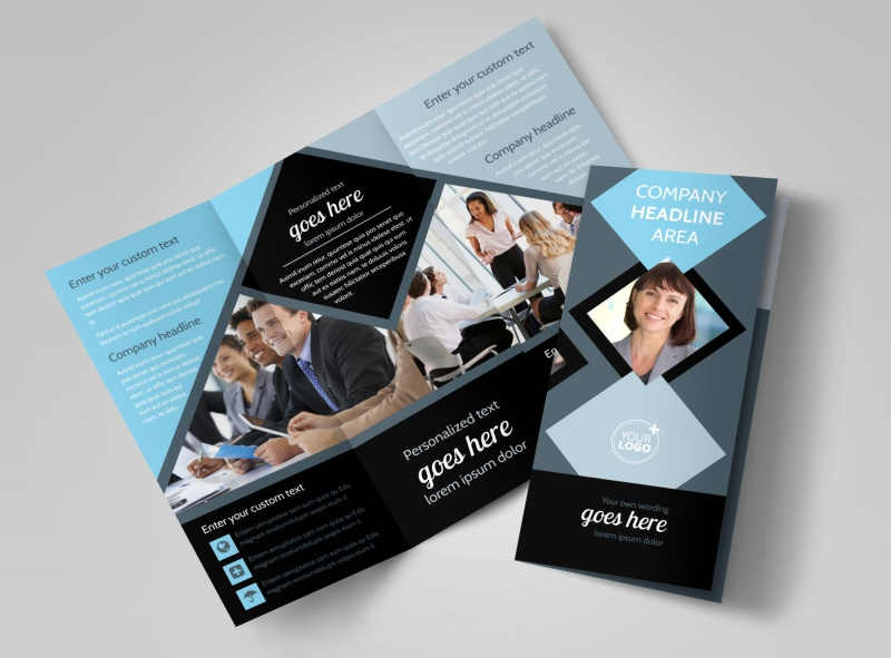 Public Relations Firm Brochure Template Preview 4
