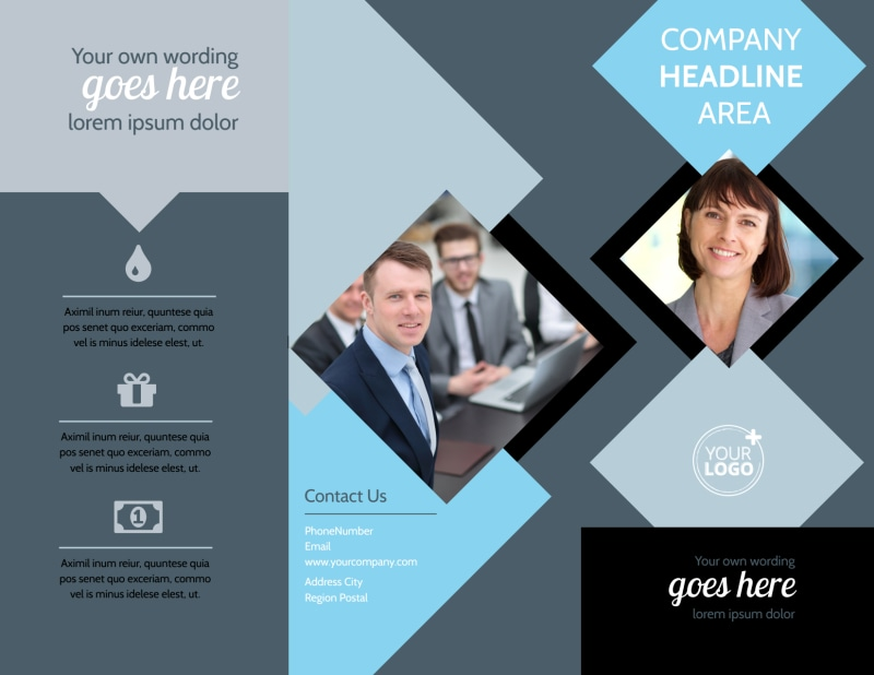 Public Relations Firm Brochure Template Preview 2