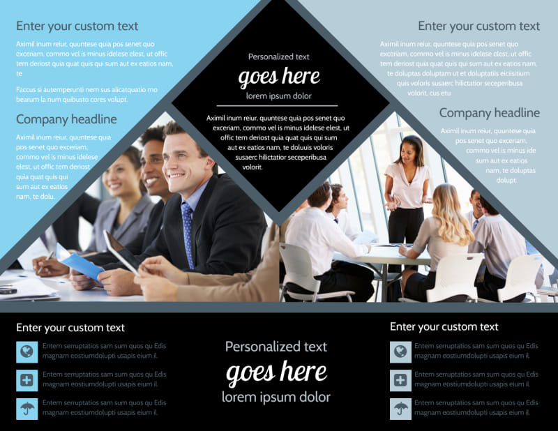 Public Relations Firm Brochure Template Preview 3