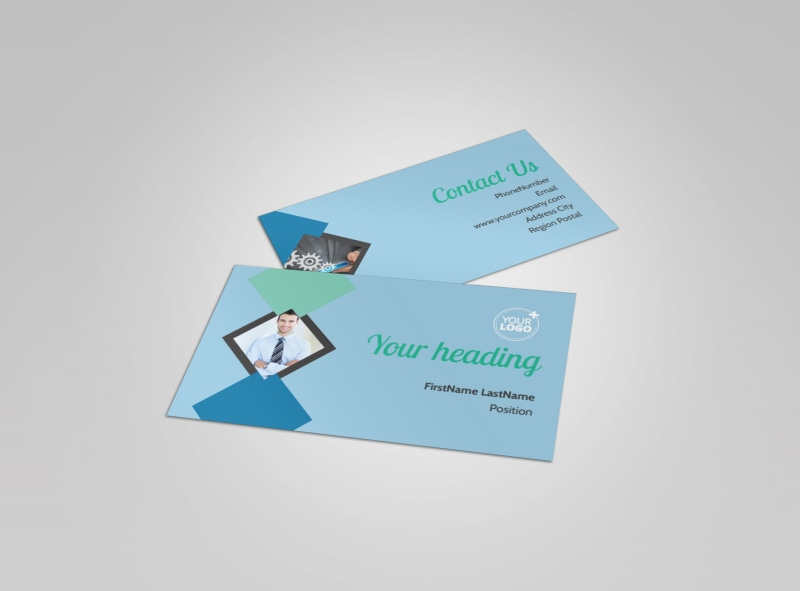 Local Business Consulting Business Card Template Preview 4