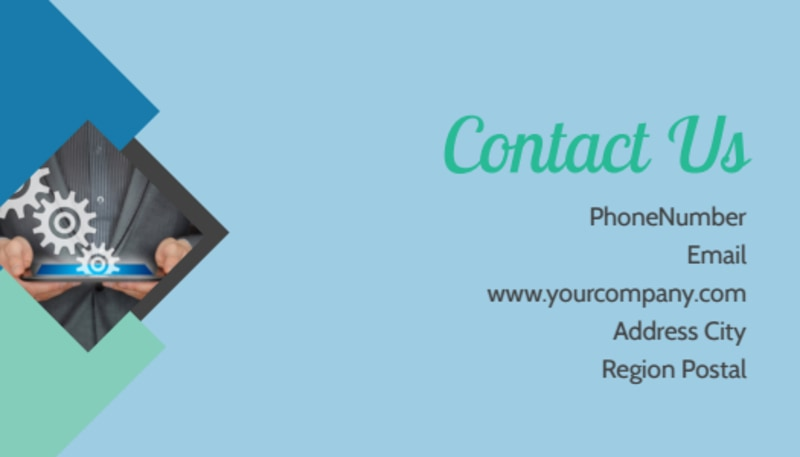 Local Business Consulting Business Card Template Preview 3