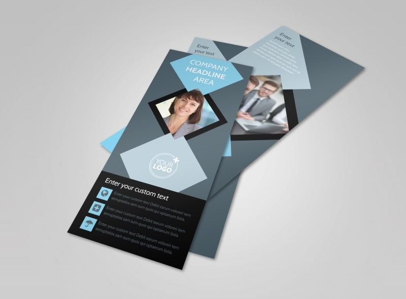 Public Relations Firm Flyer Template 2