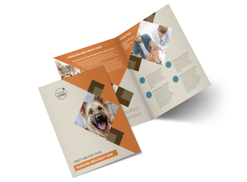 Animal Charity Brochure Template Preview 1
