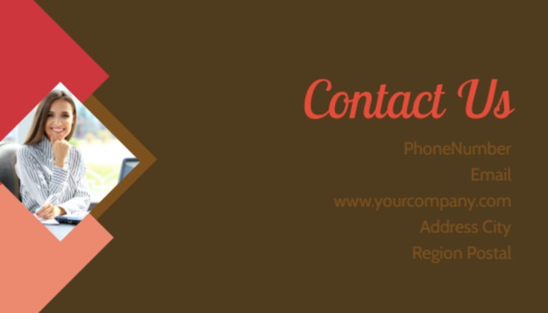 Family & Marriage Counseling Business Card Template Preview 3