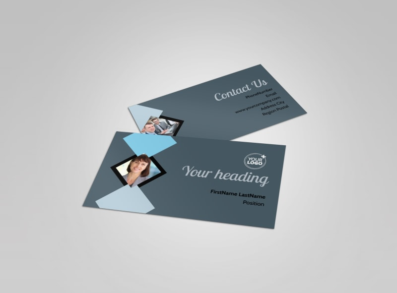 Public Relations Firm Business Card Template