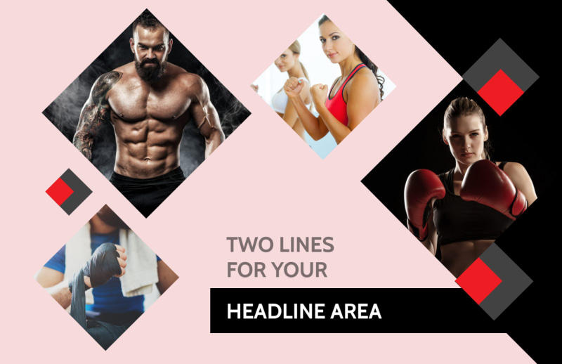 Boxing Gym Postcard Template Preview 2