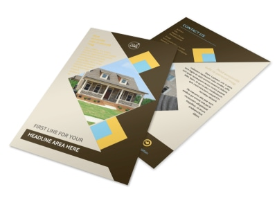 Local Property Management Flyer Template 3 preview