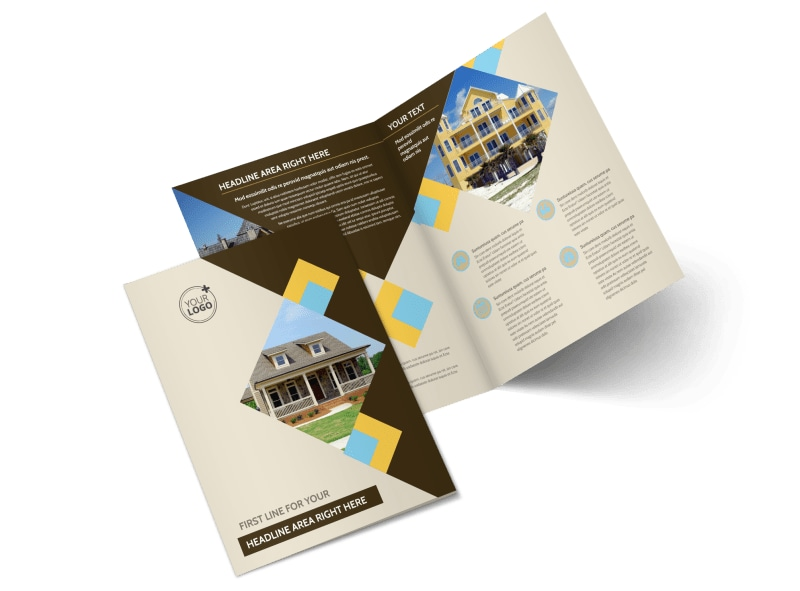 Local Property Management Bi-Fold Brochure Template 2
