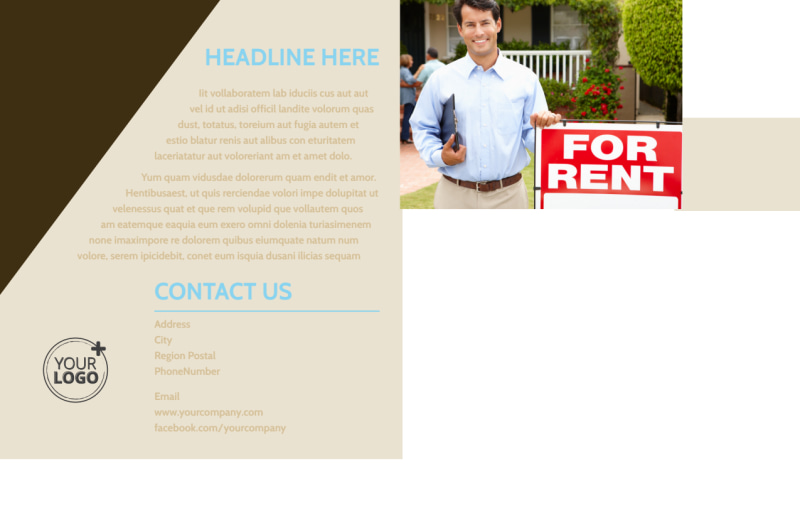 Local Property Management Postcard Template Preview 3