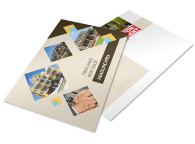 Local Property Management Postcard Template