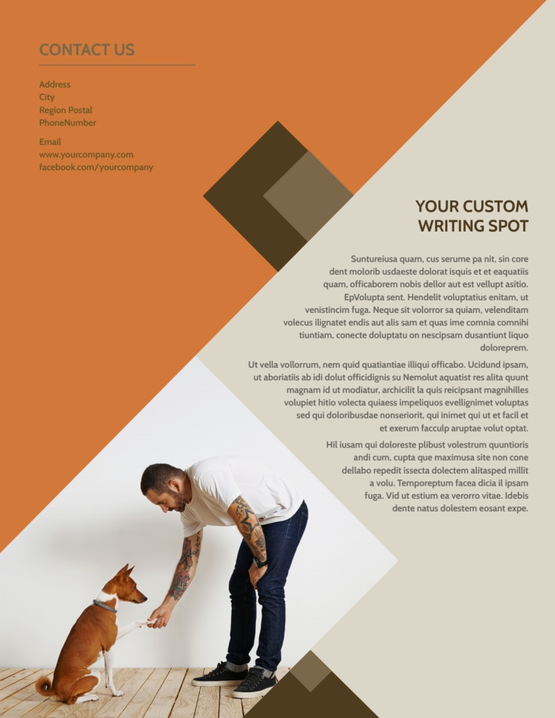 Animal Charity Flyer Template Preview 3
