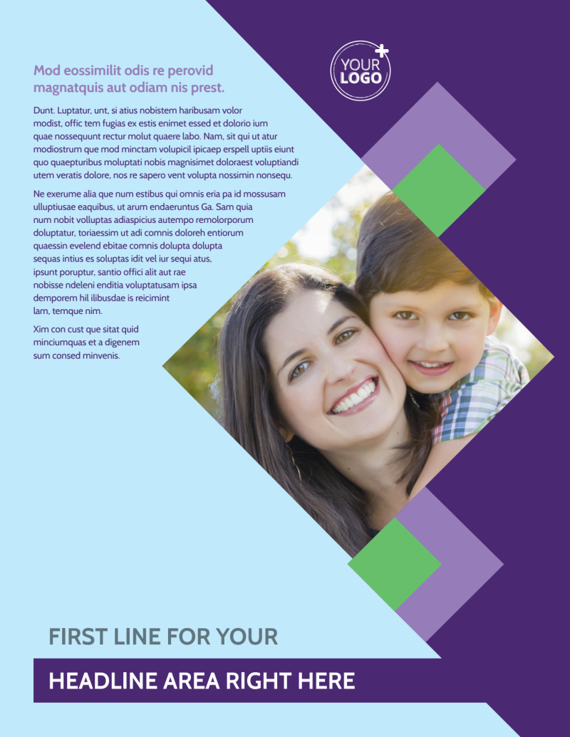 Family Adoption Agency Flyer Template Preview 2