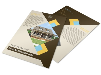 Local Property Management Flyer Template preview