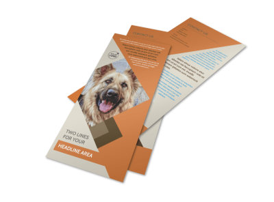Animal Charity Flyer Template 2