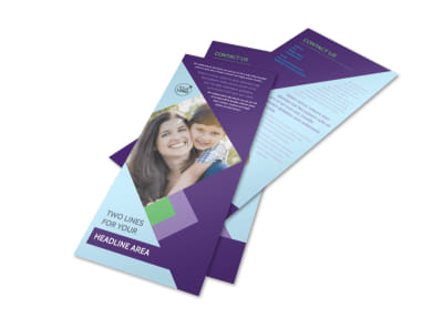 Family Adoption Agency Flyer Template 2