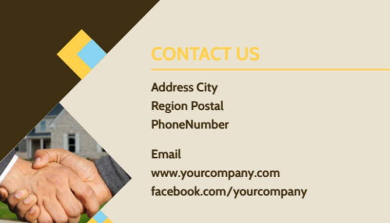 Local Property Management Business Card Template Preview 3