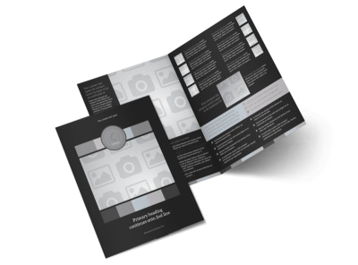 Generic Bi-Fold Brochure Template 8843