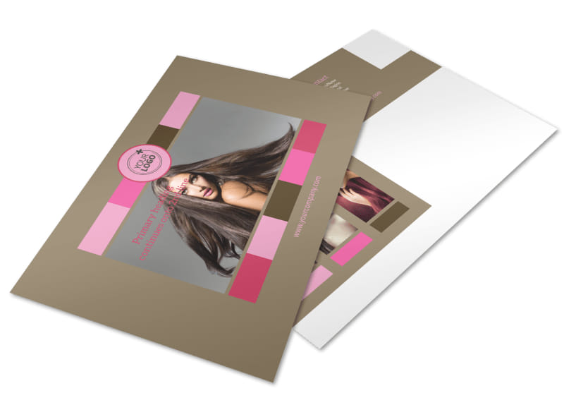 General Beauty 2 Postcard Template Preview 4