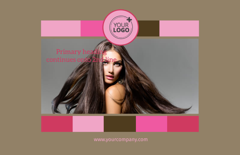 General Beauty 2 Postcard Template Preview 2