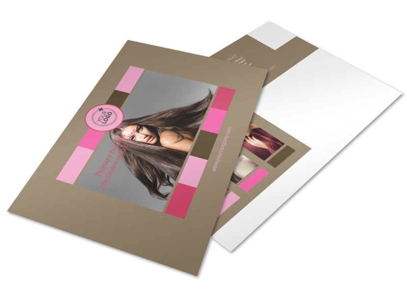 General Beauty 2 Postcard Template Preview 1