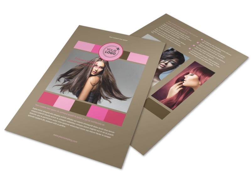 General Beauty 2 Flyer Template