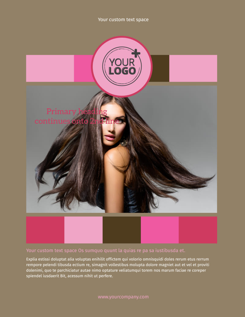 General Beauty 2 Flyer Template Preview 2