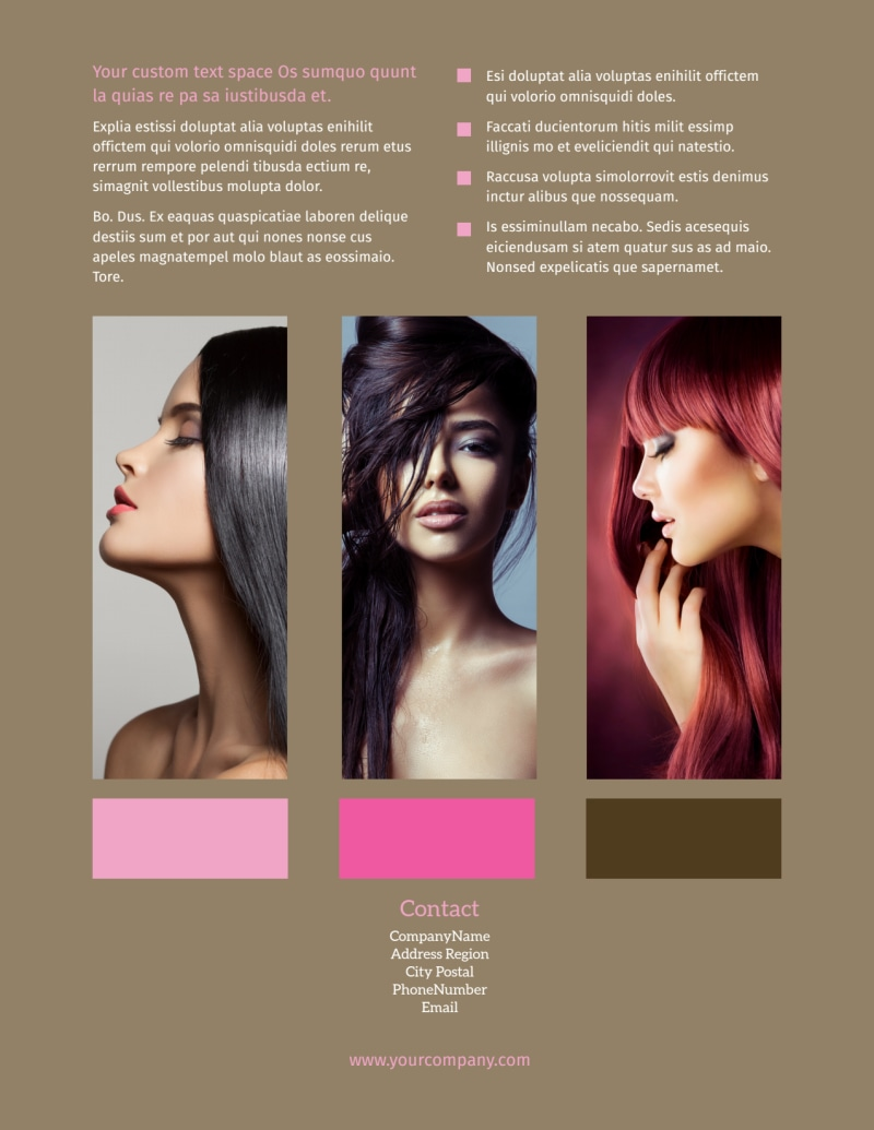 General Beauty 2 Flyer Template Preview 3