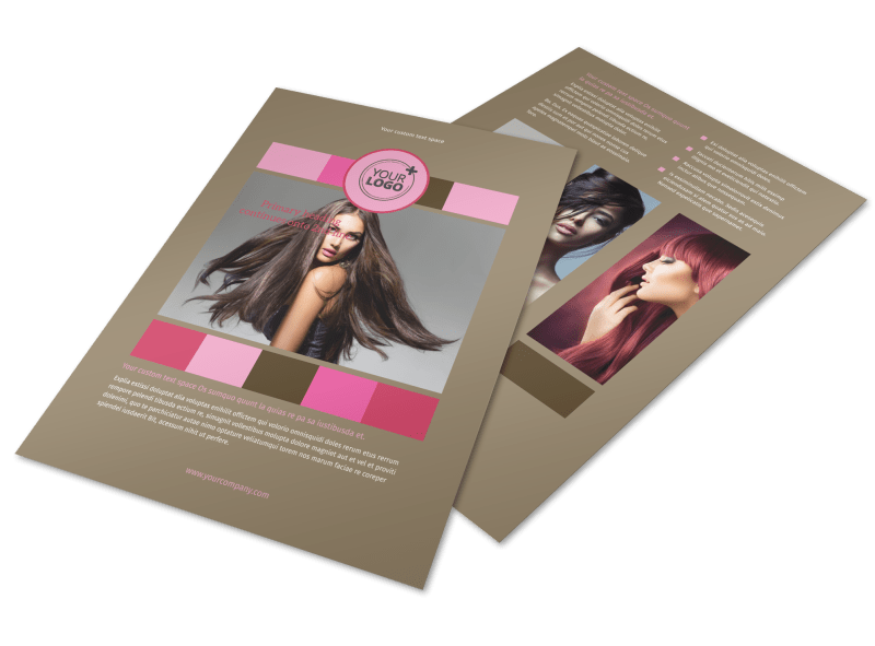 General Beauty 2 Flyer Template Preview 1