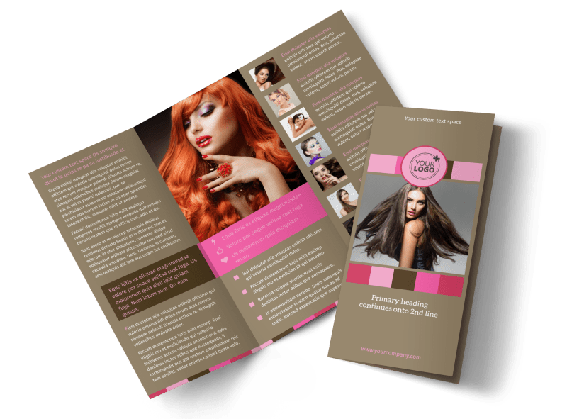 General Beauty 2 Brochure Template Preview 1