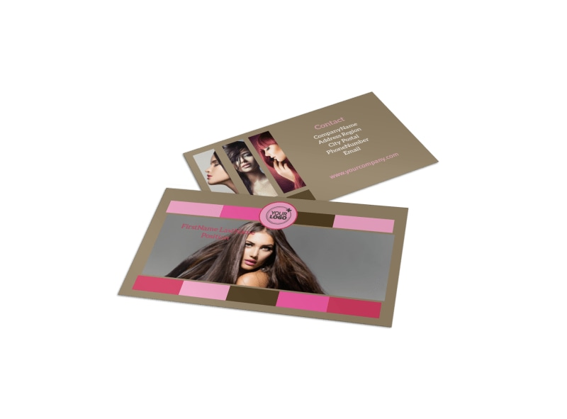 General Beauty 2 Business Card Template