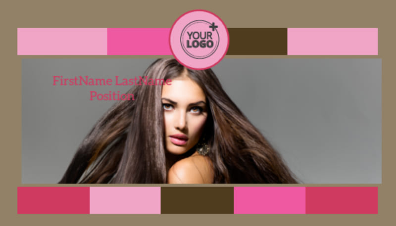 General Beauty 2 Business Card Template Preview 2