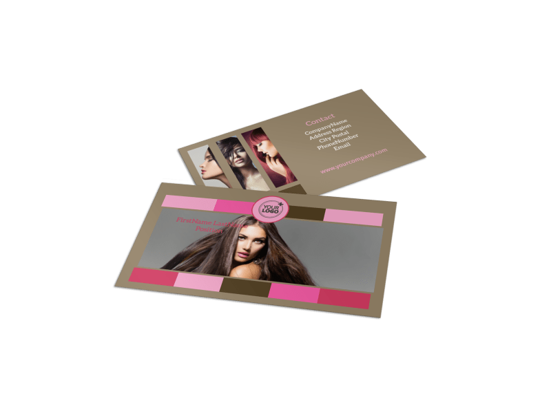 General Beauty 2 Business Card Template Preview 1