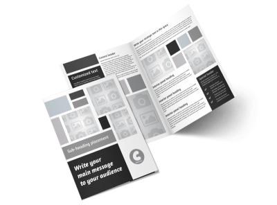 Generic Bi-Fold Brochure Template 8852