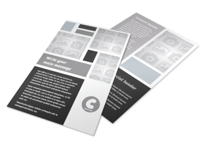 Generic Flyer Template 8854 preview