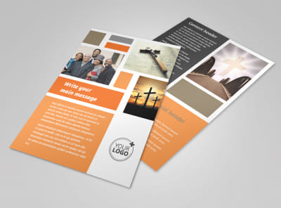 General Church 2 Flyer Template 3 preview