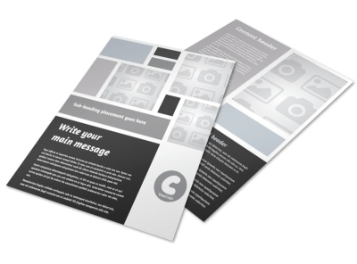 Generic Flyer Template 8857 preview