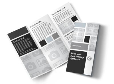 Generic Tri-Fold Brochure Template 8858