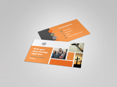 General Church 2 Business Card Template
