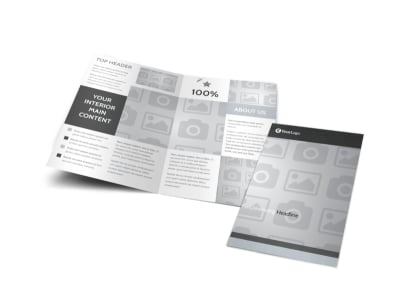 Generic Bi-Fold Brochure Template 8874